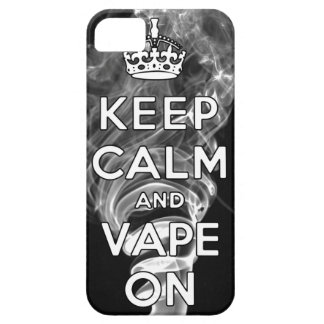 Keep Calm And Vape On Case For The iPhone 5