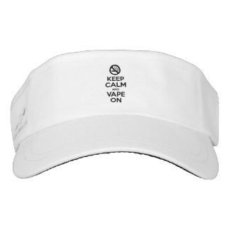 Keep Calm and Vape On ~ Self Motivational Visor