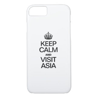 KEEP CALM AND VISIT ASIA iPhone 7 CASE