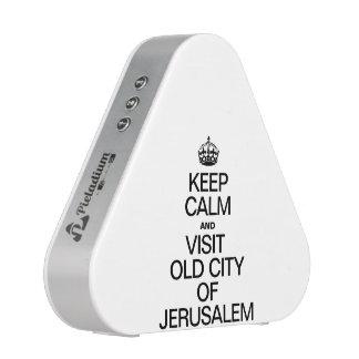 KEEP CALM AND VISIT OLD CITY OF JERUSALEM SPEAKER