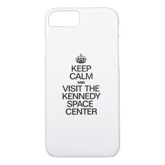 KEEP CALM AND VISIT THE KENNEDY SPACE CENTER iPhone 7 CASE