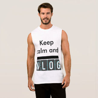 keep calm and vlog shirt johnmoorevlogs