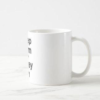 Keep Calm and Volley On Coffee Mug