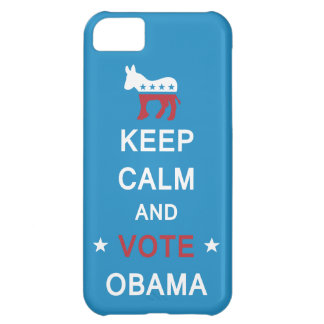 Keep Calm and Vote Obama iPhone Case