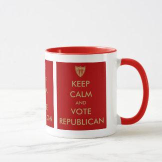 """KEEP CALM and VOTE REPUBLICAN"" Mug"