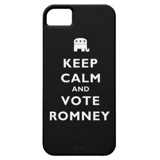 Keep Calm And Vote Romney iPhone 5 Cases