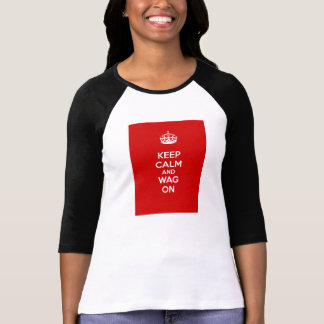 Keep Calm and Wag On T-Shirt
