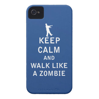 Keep Calm and Walk Like A Zombie iPhone 4 Covers