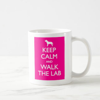 Keep Calm And Walk The Labrador Coffee Mug