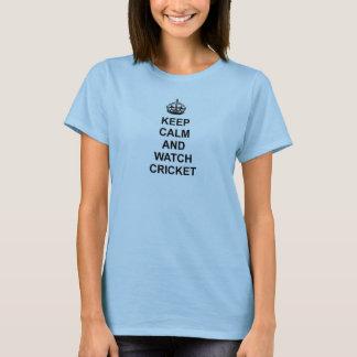 Keep Calm and Watch Cricket T-Shirt