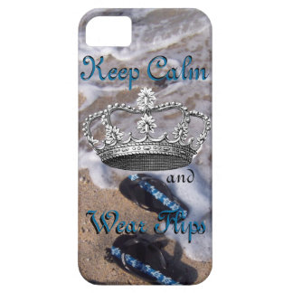 Keep Calm and Wear Flip Flop Sandals iPhone 5 Cases