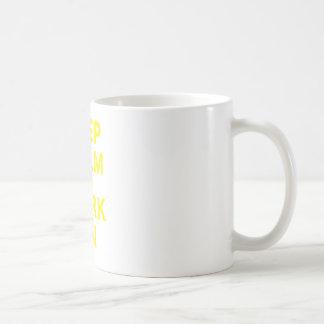 Keep Calm and Work On Coffee Mugs