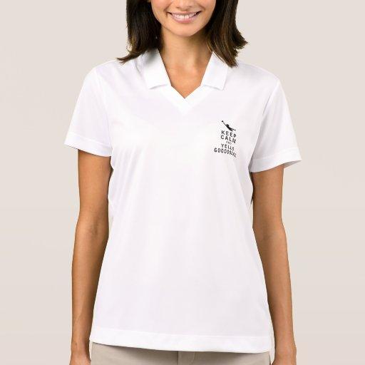 Keep Calm and YELLS GOOOOOOAL Polo Shirt