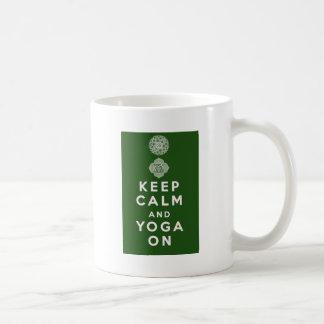Keep Calm and Yoga On Coffee Mug