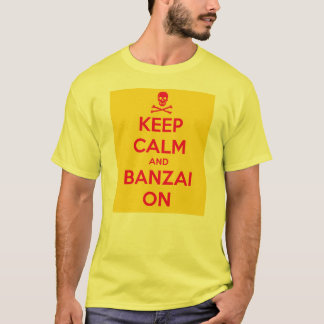 Keep Calm & Banzai On, Advance Squad Leader tshirt