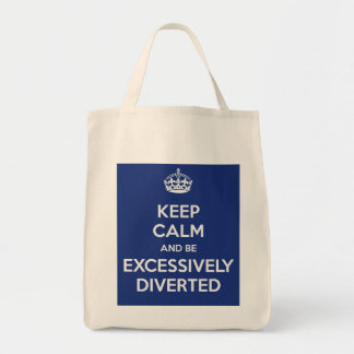 Keep Calm Be Excessively Diverted Jane Austen Tote Bag