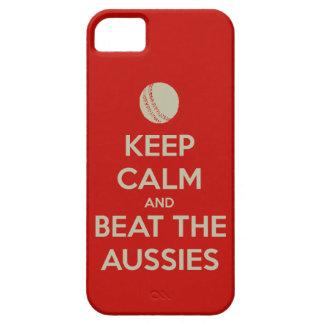 keep calm beat aussies iPhone 5 cases