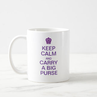 Keep Calm Big Purse mug
