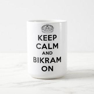 Keep Calm & Bikram On Mug