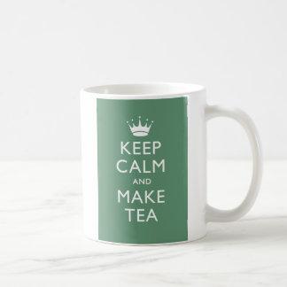 Keep Calm British Style Coffee Mug