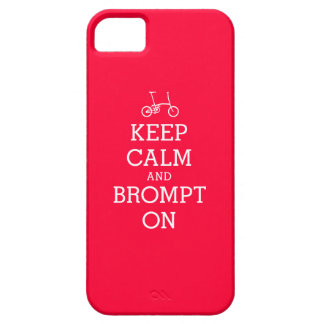 KEEP calm Brompton bicycle iPhone case
