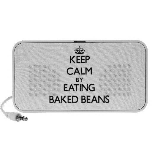 Keep calm by eating Baked Beans Speaker