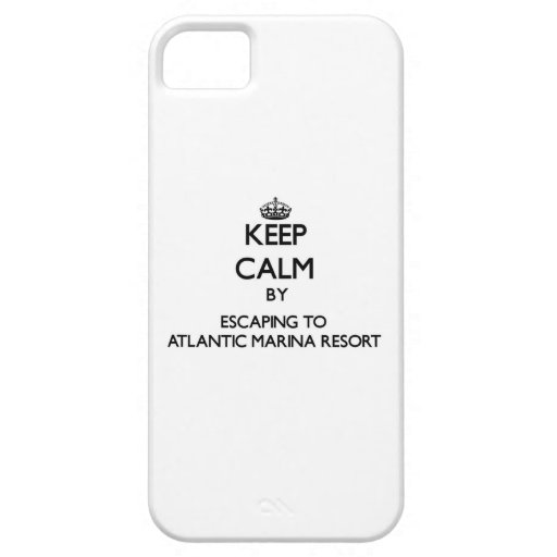 Keep calm by escaping to Atlantic Marina Resort Ma Cover For iPhone 5/5S