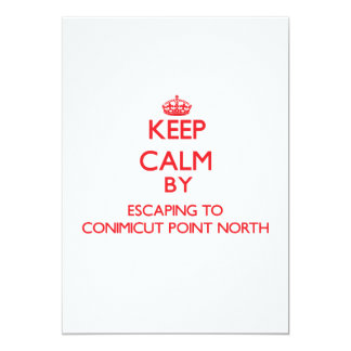 Keep calm by escaping to Conimicut Point North Rho Card