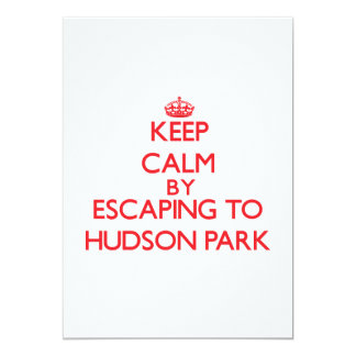 Keep calm by escaping to Hudson Park New York Announcements