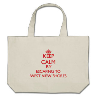 Keep calm by escaping to West View Shores Maryland Bags