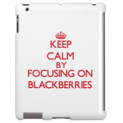 Keep Calm by focusing on Blackberries