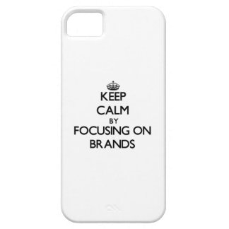 Keep Calm by focusing on Brands Cover For iPhone 5/5S