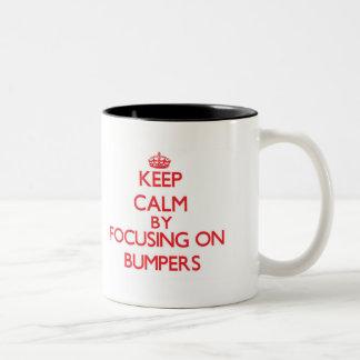 Keep Calm by focusing on Bumpers Coffee Mug