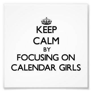 Keep Calm by focusing on Calendar Girls Photo