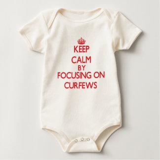 Keep Calm by focusing on Curfews Bodysuit