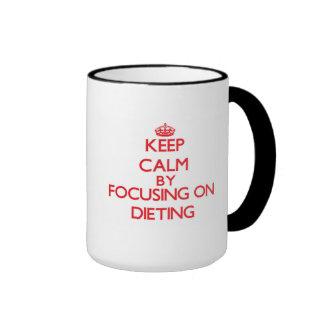 Keep Calm by focusing on Dieting Mugs