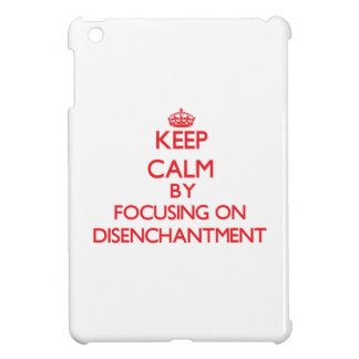 Keep Calm by focusing on Disenchantment iPad Mini Cases
