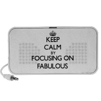 Keep Calm by focusing on Fabulous Travelling Speaker