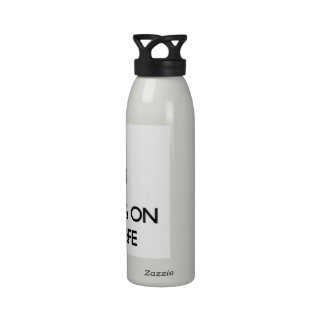 Keep Calm by focusing on Nightlife Reusable Water Bottles