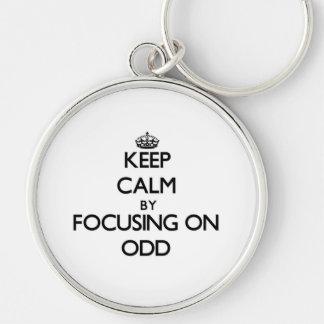 Keep Calm by focusing on Odd Key Chain