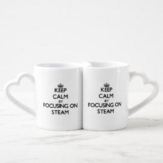 Keep Calm by focusing on Steam Lovers Mugs