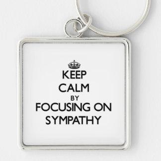 Keep Calm by focusing on Sympathy Key Chains
