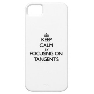 Keep Calm by focusing on Tangents iPhone 5 Cover