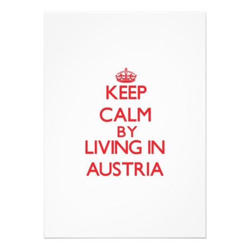 Keep Calm by living in Austria Announcement