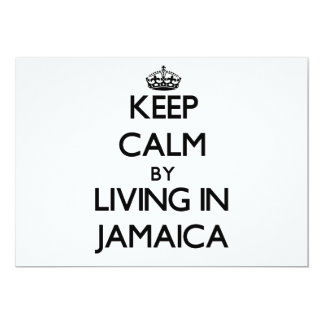 Keep Calm by Living in Jamaica Announcements