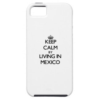 Keep Calm by Living in Mexico iPhone 5 Cases