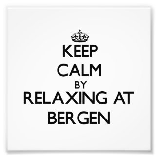 Keep calm by relaxing at Bergen New Jersey Photo
