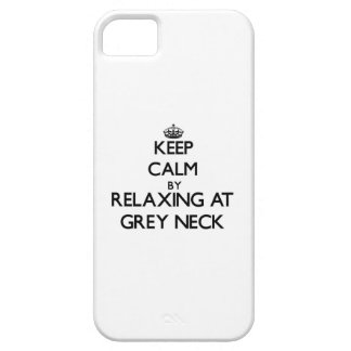 Keep calm by relaxing at Grey Neck Massachusetts Case For iPhone 5/5S