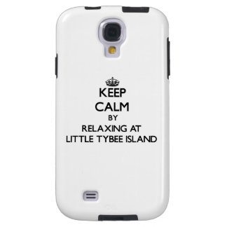 Keep calm by relaxing at Little Tybee Island Georg Galaxy S4 Case
