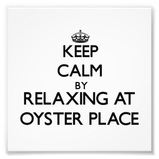 Keep calm by relaxing at Oyster Place Massachusett Photograph